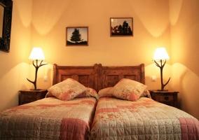 Dormitorio doble en apartamento 3