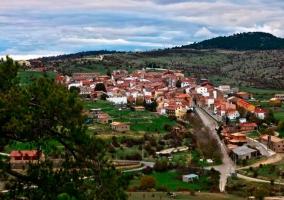 Vista de la localidad de Las Majadas