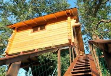 Cabaña Brisa- Dormir en los Árboles - Villasbuenas De Gata, Cáceres