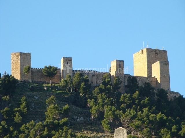 Castillo de Santa Catalina en Jaén