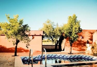 Casas rurales con piscina en santa amalia for Casas rurales en badajoz con piscina