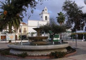 Plaza e Iglesia de Santa Amalia