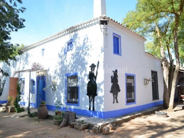 Encantadora Casa Azul
