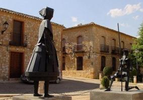 Esculturas del museo Cervantino