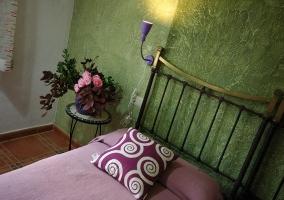 Florido dormitorio doble