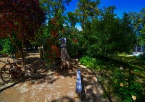 Florido jardín
