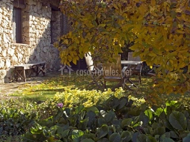 La casita del jard n del convento en hervas c ceres for Casa rural el jardin del convento