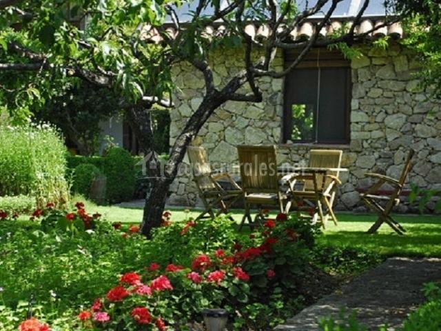La casita del jard n del convento en hervas c ceres for Casa rural jardin del desierto