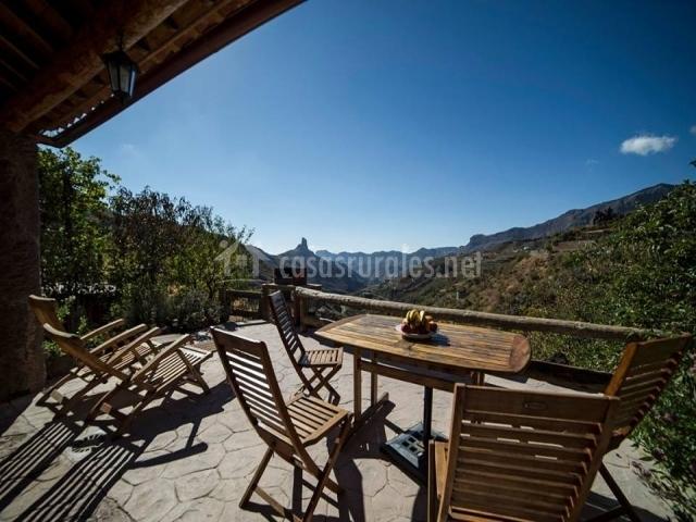 Casa rural bentayga en tejeda gran canaria for Terrazas individuales
