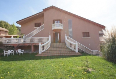 Casa rosada - Ainsa, Huesca