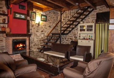 Casas rurales con chimenea en fresno de la valduerna - Casa rural con chimenea en la habitacion ...