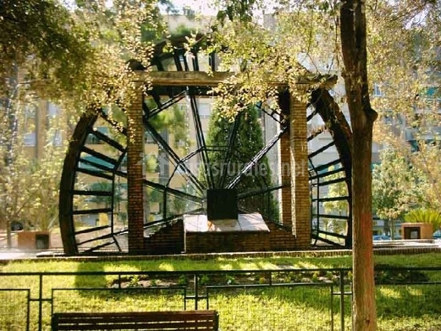 Casa rural puente blanco en el llano murcia for Piscina municipal molina de segura
