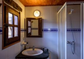 Hab. doble Las lavanderas baño
