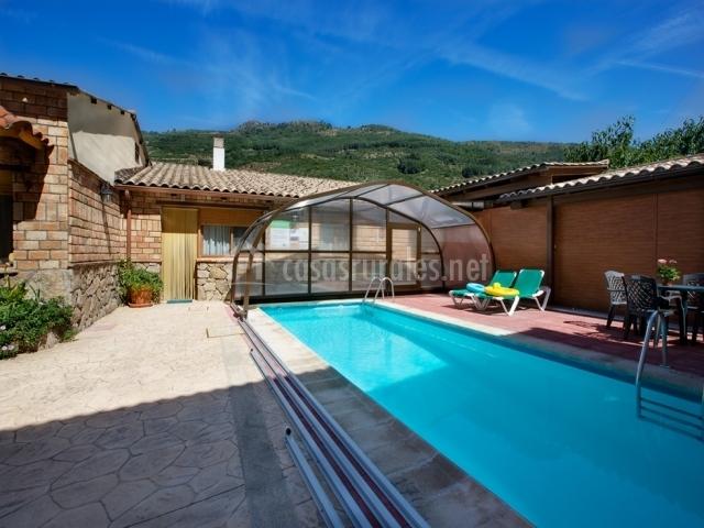Casas rurales carroyosa i en navaconcejo c ceres - Casas rurales en el jerte con piscina ...
