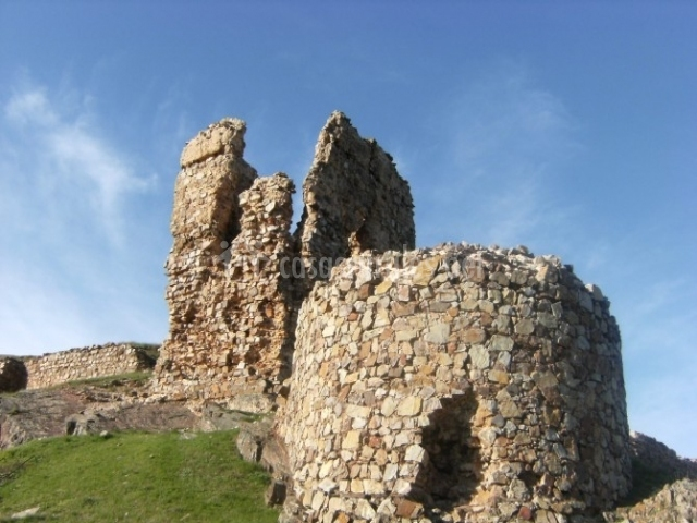 Restos del castillo de Alcaraz