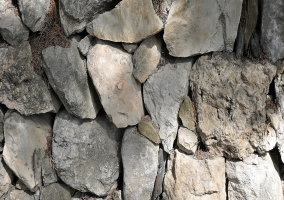 Detalle fachada de piedra