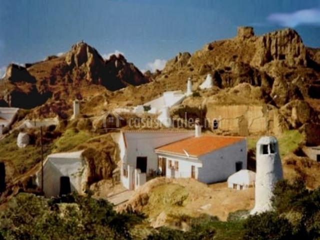 Cueva alba con jacuzzi casas rurales en guadix granada - Casas rurales granada jacuzzi ...