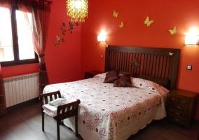 Dormitorio amplio con baño