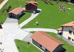 Vista aérea Apartamentos Rurales Les Xanes
