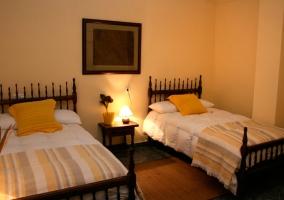 Dormitorios con camas individuales