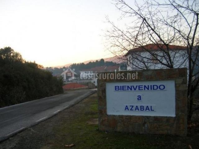 Zona de acceso al pueblo