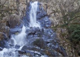 Zona de cascadas en Azabal