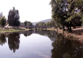 Zona del río en Azabal