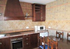 Mesa en cocina
