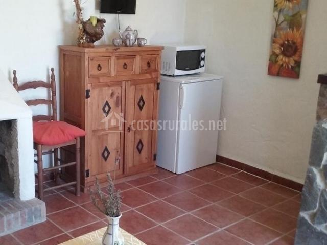 Casa 1 hacienda el mirador en el gastor c diz for Cocina abierta sala de estar
