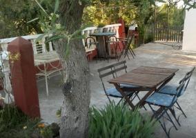 Zona infantil en el patio