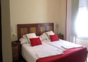 Camas individuales dormitorio