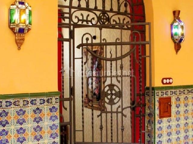 Puerta en hierro