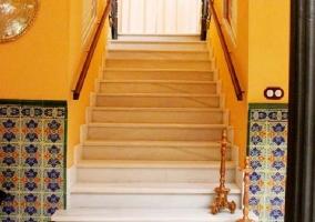 Escaleras de la casa