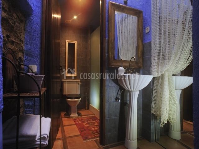 Suite Unicornio Blanco baño