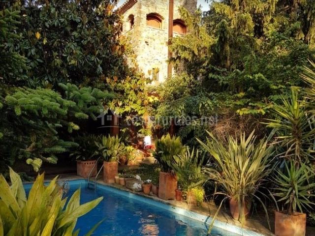 La piscina en la que relajarse