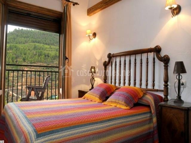 Dormitorio con terraza propia