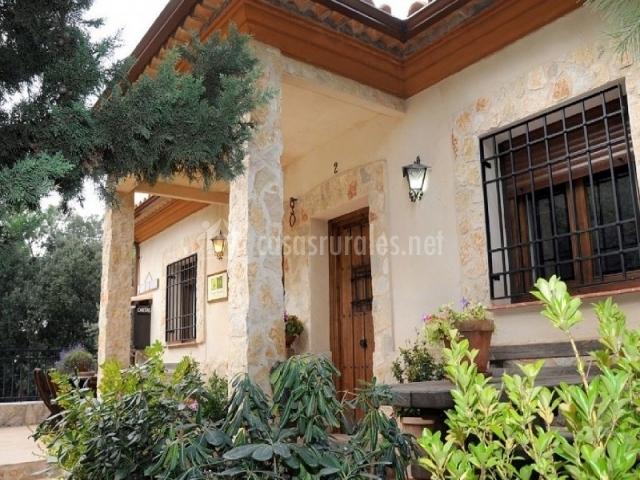 Vista de la entrada a la casa