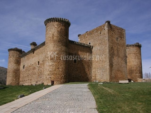 Castillo en el Barco de Ávila