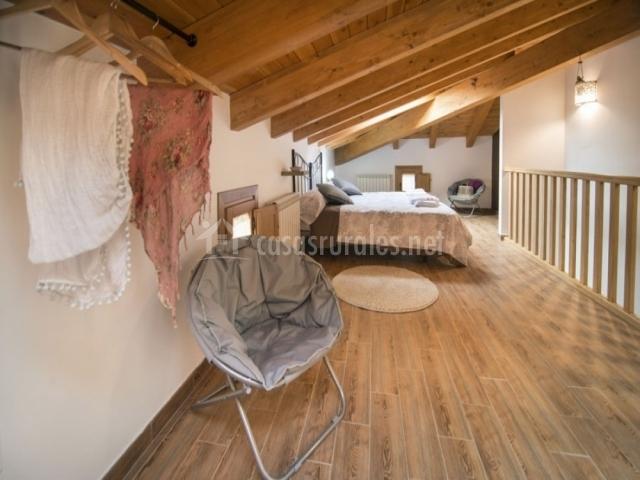Encantadora habitación romántica