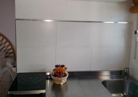 Amplia cocina equipada