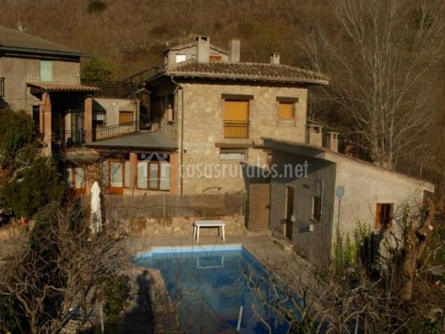Apartamento ii can fain en sant vicen de castellet for Complejo rural con piscina