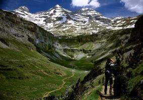 Vistas del Parque Natural de Ordesa y Monte Perdido