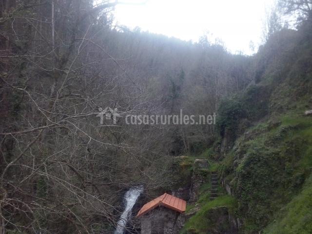 Cascada de Luerces