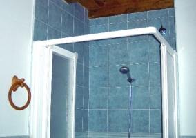 Aseo con ducha ampamparada