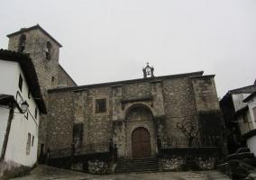 Zona de la iglesia de Cabezuela