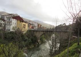 Zona del puente de piedra