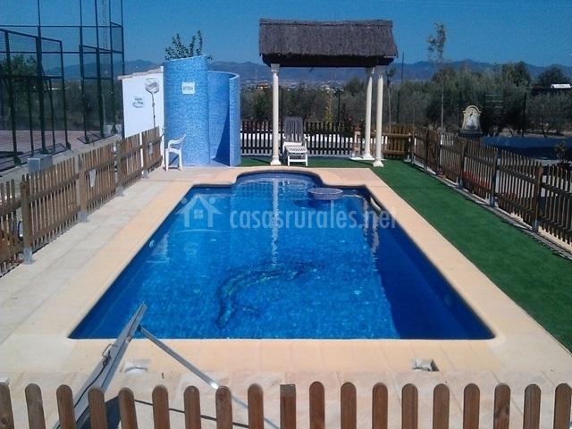 Chalet del sol casas rurales aldea la pur sima en puerto for K sol piscinas
