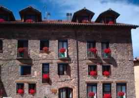 Vista de la fachada del alojamiento