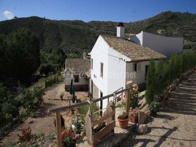 El roc o cortijo el plant o en castril de la pe a granada - Casa rural rocio orgiva ...