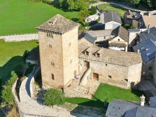 Vista aérea del la Torre de Oto